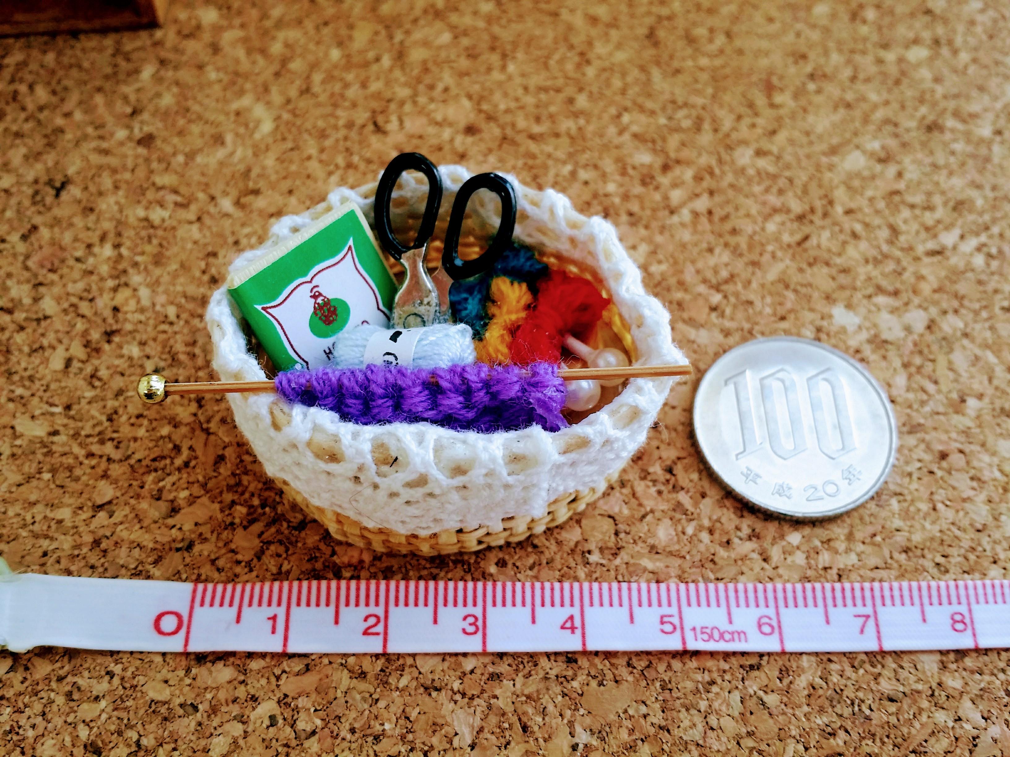 ミニチュア雑貨通販裁縫セット