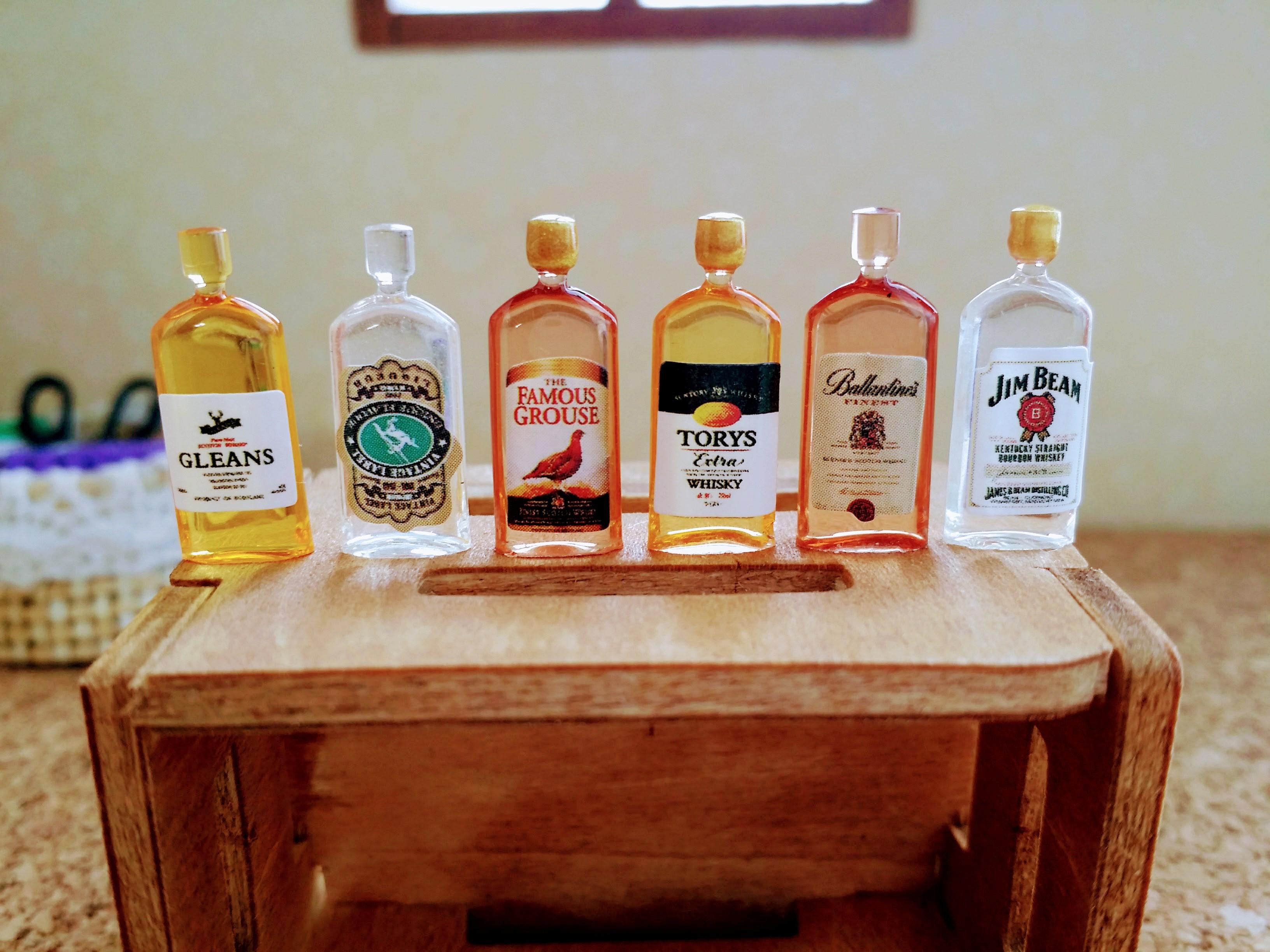ミニチュア雑貨通販ウイスキー