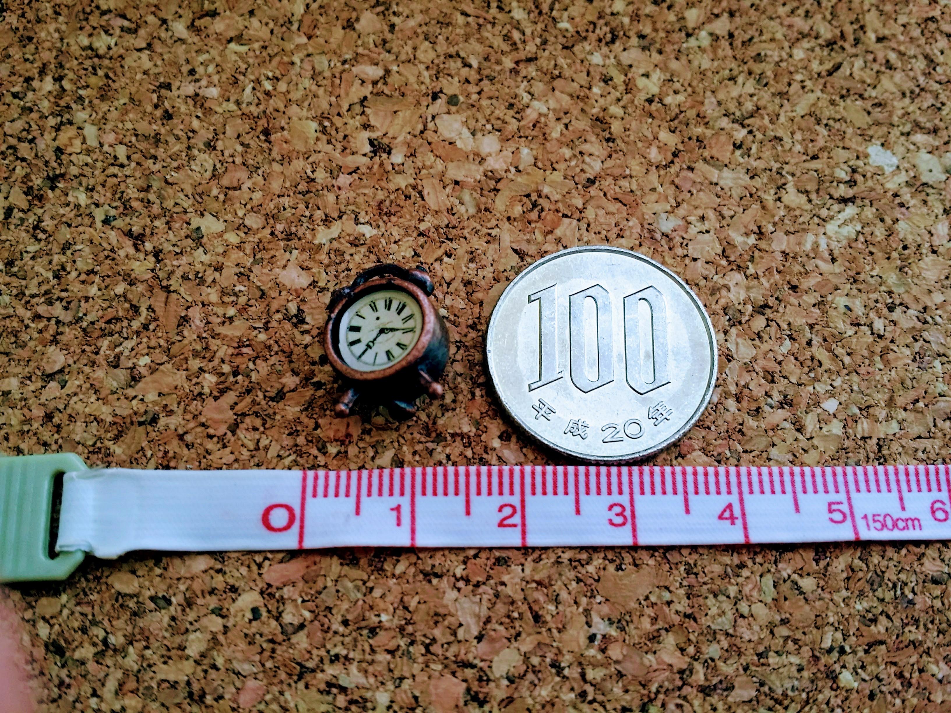 ミニチュア雑貨通販置き時計
