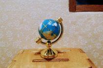 ミニチュア地球儀